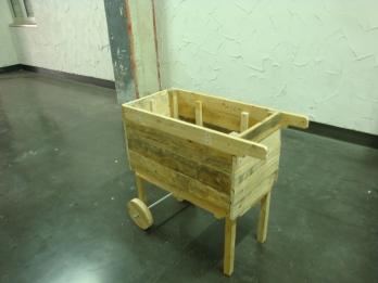 Le Zinc et le FABLAB- Jardinière mobile - Atelier Fabrication